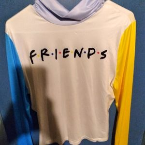 Friends Hoodie and shirt lot